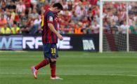 LOVITURA pentru Barcelona! Messi poate rata meciul cu Real Madrid! Vezi ce a patit in meciul de aseara dupa golul GENIAL marcat