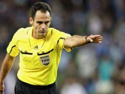 Steaua - Chelsea, arbitrat de omul care a condus la centru derby-ul Steaua - Dinamo in 2009!