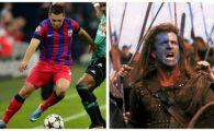 "Adi ""Braveheart"" Popa e gata de razboiul cu englezii! :) Stelistii au prins curaj dupa victoria de pe National Arena si il ameninta pe Mourinho!"