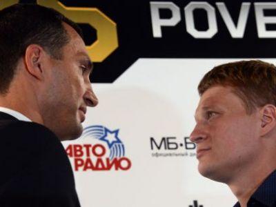 "PovetKIN pentru Kltischko! Lupta uriasa cu 4 centuri puse in joc e in direct la Sport.ro si Voyo.ro! 35.000 de rusi promit sa ii faca viata imposibila ""Ciocanului de otel"""
