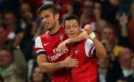 Mesut Ozil a fost OMUL MECIULUI: A reusit un gol si o pasa de gol in Arsenal 2-0 Napoli!