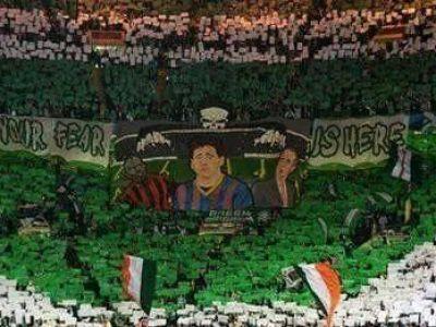 COREGRAFIA SERII: Fanii lui Celtic i-au speriat pe granzii de la Barcelona! Moment MAGIC in tribune la Dortmund: FOTO