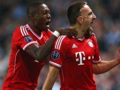 VIDEO Panzerele germane au cucerit Anglia: Manchester City 1-3 Bayern! Ribery, Muller si Robben au inscris SUPER GOLURI!
