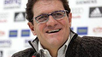 """""""Piova... cum? E roman?"""" Fabio Capello a oferit faza zilei astazi la Bucuresti! Atacantul Stelei, o enigma totala pentru antrenorul italian:"""