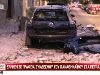 VIDEO Rafuiala in stil MAFIOT in Grecia! Fanii lui Olympiacos au pus BOMBA la fan-clubul lui Panathinaikos! Scene INCREDIBILE: