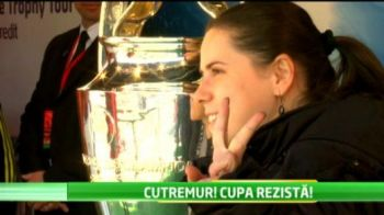 Mii de oameni vin sa vada trofeul Champions League la Bucuresti! De ce s-au temut organizatorii in weekend :)