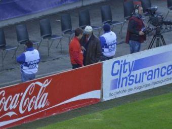 FOTO Am tras de timp cu Estonia! FRF si-a trimis oamenii la copiii de mingi! Ce nu s-a vazut la TV pe National Arena: