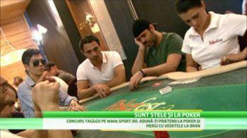 Stelistii de la baschet isi pot face si echipa de poker! La antrenamente, partidele de poker nasc pasiuni nebanuite! VIDEO