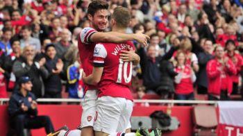 FA-BU-LOS! Asta-i una dintre cele mai frumoase faze vazute pe terenul de fotbal! Numai la reluare intelegi ce s-a intamplat la golul lui Arsenal: VIDEO