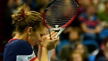 Simona Halep, victorie in primul meci de la Turneul Campioanelor WTA! Romanca a invins-o pe Pavliucenkova, scor 6-3, 6-3!