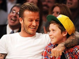 "Fiul lui Becks, la Manchester United! Dinastia Beckham continua pe Old Trafford: ""Vreau sa-mi calce pe urme"""