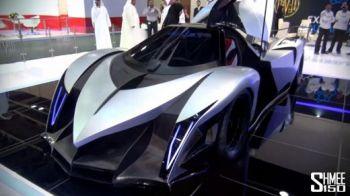 "Arabii au lansat cea mai RAPIDA masina din lume: are 5000 de CAI si atinge 560 km/h! ""Au copiat Lamborghini!"" Vezi cum arata:"