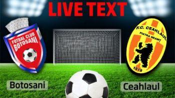Botosani in cadere libera dupa a 5-a infrangere consecutiva! FC Botosani 0-1 Ceahlaul! Ceahlaul viseaza la EUROPA!