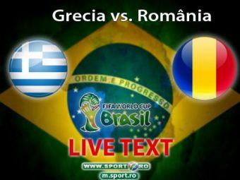LIVE BLOG I-am scos pe greci din criza   Dezastru in Grecia! Romania a pierdut doi jucatori si n-a avut NICIO ocazie! Toate fazele din Grecia 3-1 Romania