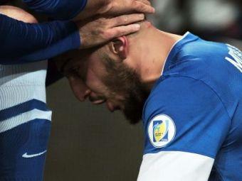 SUPER FOTO! Imaginea emotionanta de la meciul Romaniei! Ce a facut omul care ne-a EXECUTAT de doua ori imediat dupa ce a dat gol!