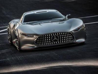 SUPER MASINA zilei   Concept GENIAL lansat de Mercedes: Vision Gran Turismo! O masina din jocurile 3D devine realitate!