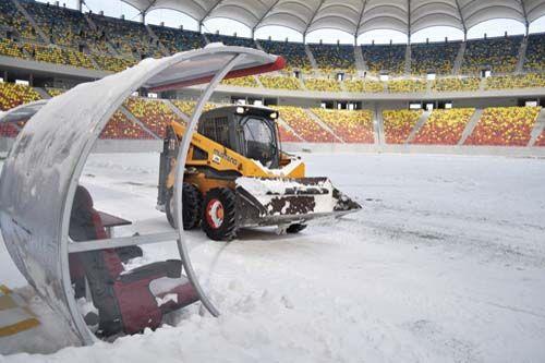 Primavara se joaca pe ZAPADA! Cod galben de ninsori la ora jocului cu Schalke! De ce NU poate fi tras acoperisul pe National Arena: