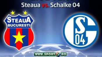Steaua ramane in afara Europei dupa un egal spectaculos! Arbitrul a refuzat un penalty EVIDENT Stelei! Vezi toate fazele din Steaua 0-0 Schalke - REZUMAT VIDEO