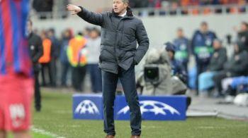 """Steaua, laudata de antrenorul lui Schalke: """"Am scapat lucrurile de sub control in a 2-a parte, s-a vazut ca Steaua vrea sa castige"""""""