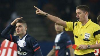 Simulare JENANTA in Liga Campionilor! A facut hent, apoi a incercat sa-l pacaleasca pe arbitru! Ce a incercat colegul lui Zlatan. FOTO: