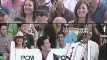 SUPER VIDEO Djokovic si Will Smith au facut SHOW in fata lui Nadal! Momentul care a ridicat tribuna in picioare!