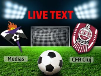 Gaz Metan 2-0 CFR Cluj! Gol Gaz Metan! Roman marcheaza in prelungiri, dupa golul lui Frasinescu din minutul 83!