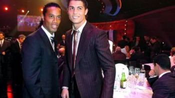 """Ronaldinho i-a dat lovitura de gratie lui Cristiano Ronaldo: """"De aia e FRUSTRAT!"""" Declaratia care il baga in depresie pe CR7:"""