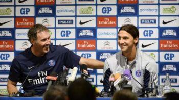 """VIDEO """"Tu cu Miss si eu cu Al Jazeera?"""" Moment GENIAL! Nimic nu-l opreste pe Zlatan! Ce i-a facut antrenorului sau in fata camerelor!"""