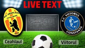 Cel mai chinuit egal: Ceahlaul 0-0 Viitorul! Moldovenii au ratat sansa sa treaca peste Dinamo in clasament!