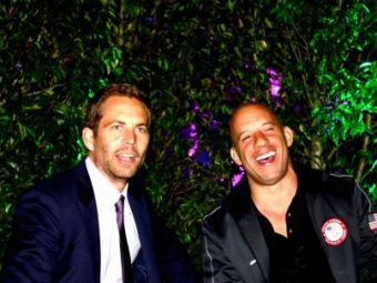 """Cat de norocosi suntem!"" Mesajul EMOTIONANT al lui Vin Diesel! Cum isi revine dupa SOCUL mortii lui Paul Walker!"