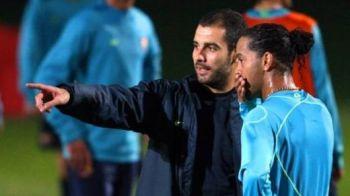 Guardiola vrea al doilea trofeu la Bayern! Se va bate cu Ronaldinho! Vezi duelul pe care il asteapta de 5 ani: