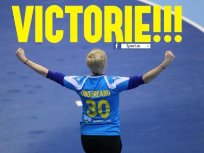 DREAM GIRLS! Romania este favorita la primul loc al grupei dupa o victorie FANTASTICA! Vezi toate fazele din Romania 21-17 Ungaria