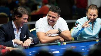 I-a invins pe Ronaldo, Sevcenko si Daniel Negreanu la 'masa finala': Rafa Nadal a castigat primul turneu de poker LIVE!