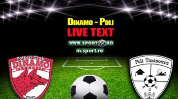 Rotariu a facut MAGIE pentru 'caini'! Dinamo 4-0 ACS Poli! Doua goluri in 2 minute! Dinamo e la un punct de Steaua in clasament!