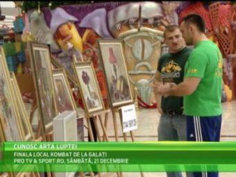 """Morosanu si Ciobanu s-au dus la o expozitie de tablouri. """"Moartea din Carpati"""" a ramas masca de pretul unuia: """"Valeeu, trebuie sa imi vand casa!"""""""