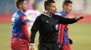 Astra a facut scandal dupa meciul Stelei cu Ceahlaul, Steaua ramane campioana arbitrajelor in Liga I! Cine va arbitra dubla care poate decide campioana: