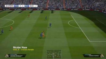 Faze geniale, executii perfecte! Cele mai tari goluri date la FIFA 14! Ultimul este dupa un sut UNIC: VIDEO