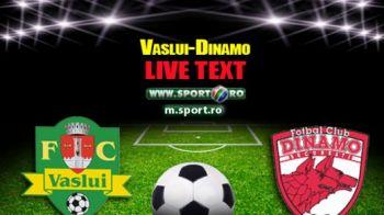 Vaslui 1-1 Dinamo! Stoican are sase meciuri fara infrangere! Dinamo ramane pe locul 5 pana in primavara!