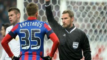 ULTIMA ORA: Kapetanos a fost suspendat si amendat! Steaua, pedepsita pentru incidentele de la meciul cu Astra!