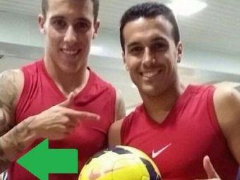 S-au dezbracat de fericire! Tello a facut o poza in vestiar dupa meciul cu Getafe! Un coleg a fost surprins cand se schimba! FOTO