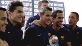 Sunt cei mai buni pe teren, dar nu te asteptai sa se priceapa la asta! Starurile Barcelonei au organizat un turneu de FIFA 14! Vezi aici golurile catalanilor: VIDEO