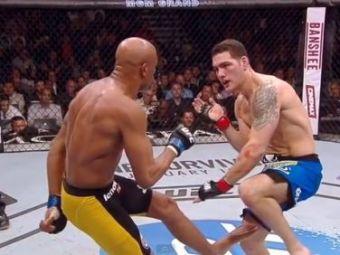 Cutremurator! Imagini INTERZISE! Anderson Silva si-a rupt piciorul dupa o lovitura mortala! A urlat de durere si s-a aruncat la pamant! VIDEO