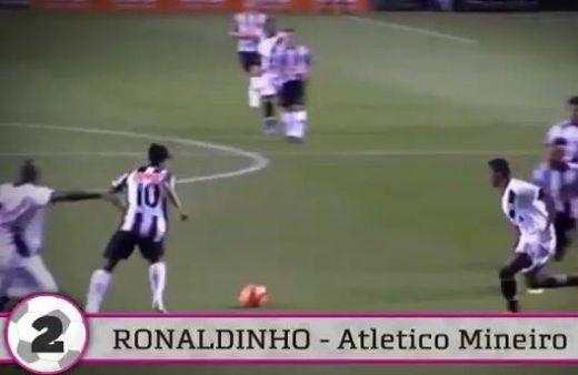 FABULOS! Top 10 pase de geniu in 2013! Jucatori de SUPER clasa si assituri la care NU se gandea nimeni! Ibra, Isco si Ronaldinho sunt in TOP! VIDEO