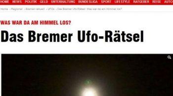 """ALERTA in Germania! Un OZN a aparut deaspra stadionului lui Werder Bremen: """"Avea lumini puternice si era extrem de silentios!"""" Momentul incredibil a fost filmat: VIDEO"""