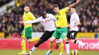 Cupa Angliei: ACUM LIVE VIDEO Fulham 3-0 Norwich! Bent deschide scorul! Dejagah inscrie cu un sut din careu! Sidwell marcheaza cu capul!