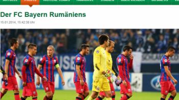 """Nemtii de la Werder, pregatiti pentru un amical de lux: """"Jucam cu Bayern Munchen din Romania!"""" Steaua, elogiata pe site-ul oficial al lui Werder:"""