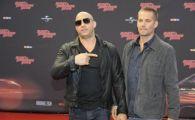 FOTO Imaginea care l-a facut pe Vin Diesel sa planga! Asa arata posterul pentru Fast & Furious 7! Mesaj EMOTIONANT pentru Paul Walker: