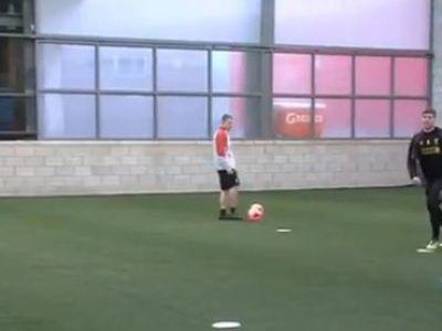 SHOW total la antrenamentul lui Liverpool! Gerrard, Sturridge si Suarez au facut echipa intr-un meci nebun! Rezultatul e surprinzator: VIDEO
