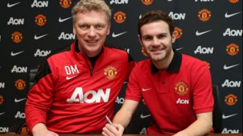 Primul interviu al lui Juan Mata la United: 'Cand m-a sunat United, m-am gandit 'Wow, voi lua titlul cu Rooney si Van Persie'' Declaratia cu care a intrat in inimile fanilor: