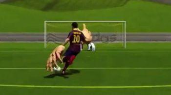 EPIC FAIL in FIFA 14! Imaginile la care nu se astepta nimeni! Jucatorii zboara sau n-au cap! Cum arata cele mai urate 'bug-uri'! VIDEO